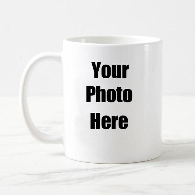 livraison gratuite personnalis personnalis blanc caf tasse en c ramique tasse de th avec. Black Bedroom Furniture Sets. Home Design Ideas