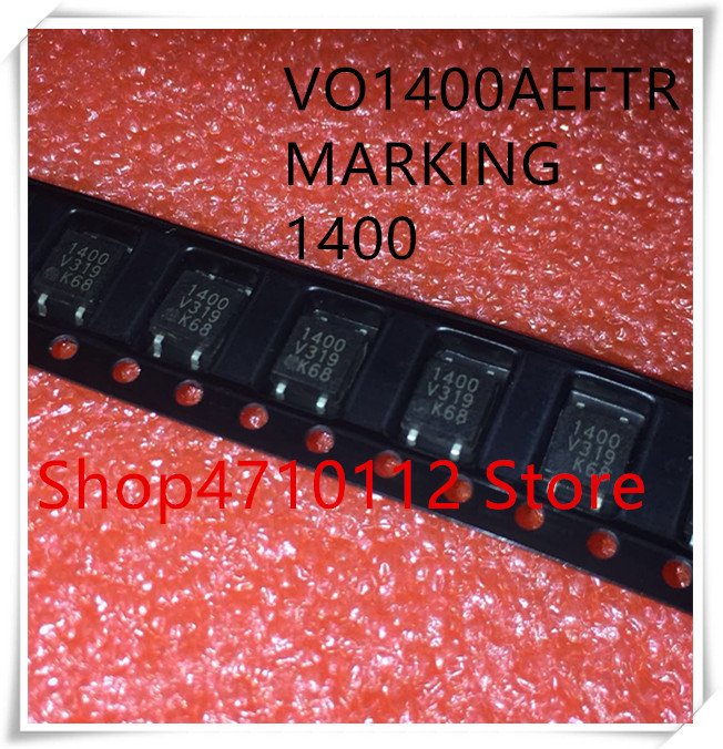 NEW 10PCS/LOT VO1400AEFTR VO1400AEF VO1400 MARKING 1400 SOP-4 IC