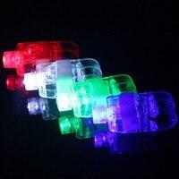 Feestartikelen 100 stks vinger licht heldere neon balken ring lichtgevende glow speelgoed dance shining feestelijke event supplies
