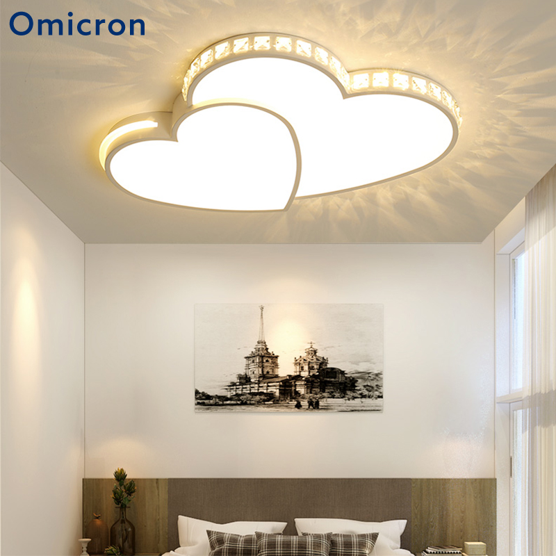 forma de nueva corazón para modernas lámparas Omicron LED SpVMGzUq
