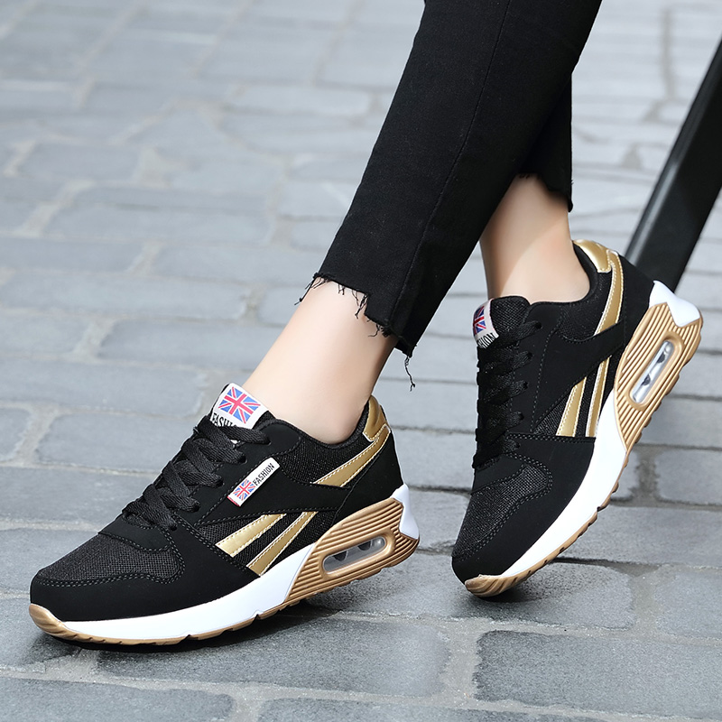 Running shoes women sneakers Lightweight Female Outdoor Athletic air Canvas Lovers walking sport tennis Trainers swing shoe