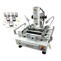 4000W Hot Air Soldering Station BGA Reballing Machine With CCD Camera System Optional For Chips Motherboard
