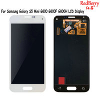Redberry For Samsung Galaxy S5 Mini G800 G800F G800H LCD Display Touch Screen Panel Phone Lcds
