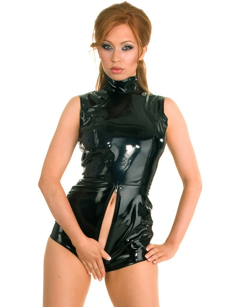 Leather Pvc Lingerie 108