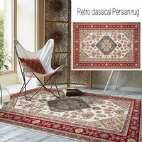 American style living room carpet , decoration Bohemia pattern big size bedside rug,traditional Persian rug