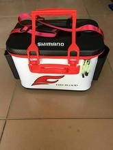 2018 NEW SHIMANO Fishing case SHIMANOS outside Multi-function Field 40cm EVA Put on-resisting gentle Excessive-capacity Fishing gear