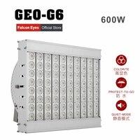 Falcon Eyes 600 Вт водостойкий гигантский светодиодный свет затемнения непрерывной высокой CRI95 5600 к GEO-G6 для видео фильм этап реклама