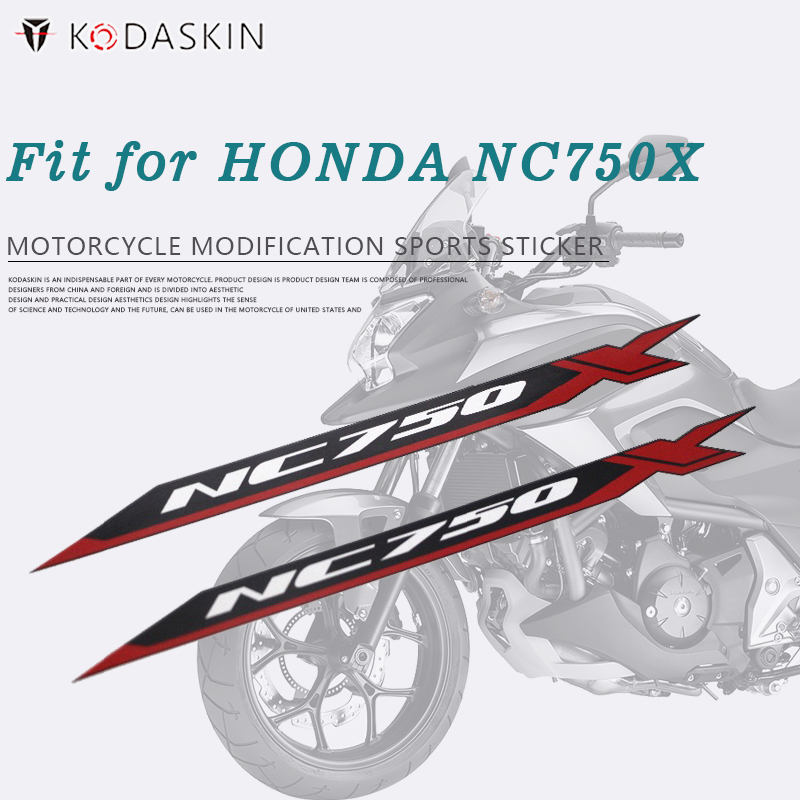 KODASKIN Motorcycle 2D Emblem Sticker Decal For Honda NC750X