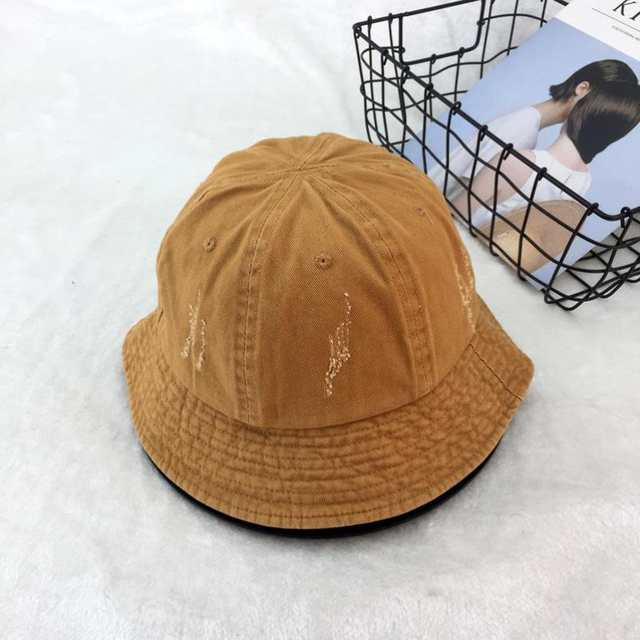 e527ea28e US $12.86 |COKK Vintage Bucket Hat Women Summer Fishing Hat Female Mens  Panama Bob Hat Fisherman Cap Hip Hop Foldable Floppy Cap Black New-in  Bucket ...