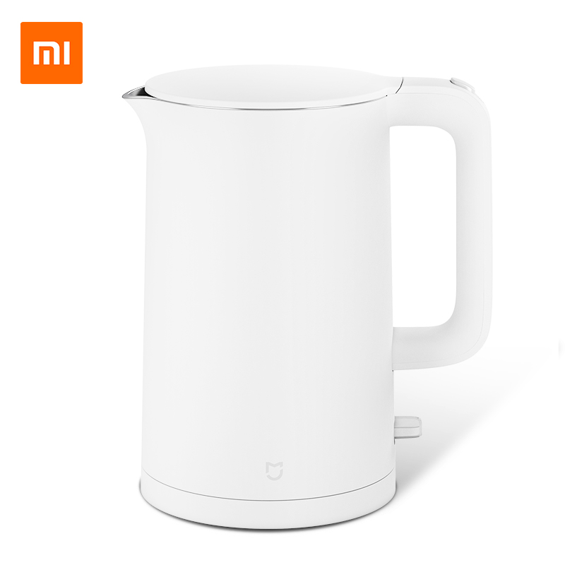 XIAOMI MIJIA Electric Kettle High Capacity Household Stainless Steel Automatic Power-off Insulation Kettle Pot цена