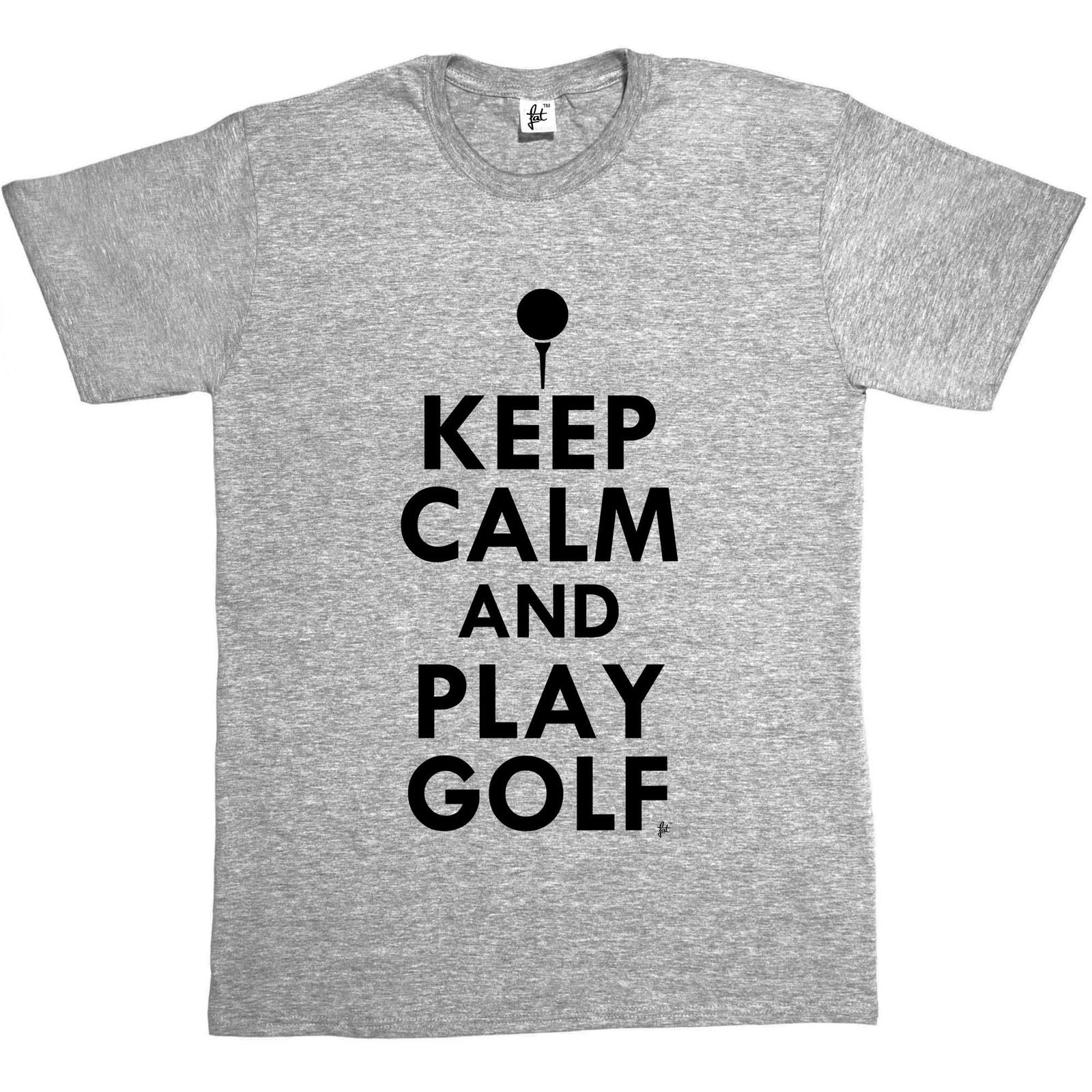 Keep Calm & Play GolfED - Golfed Ball Mens T-Shirt