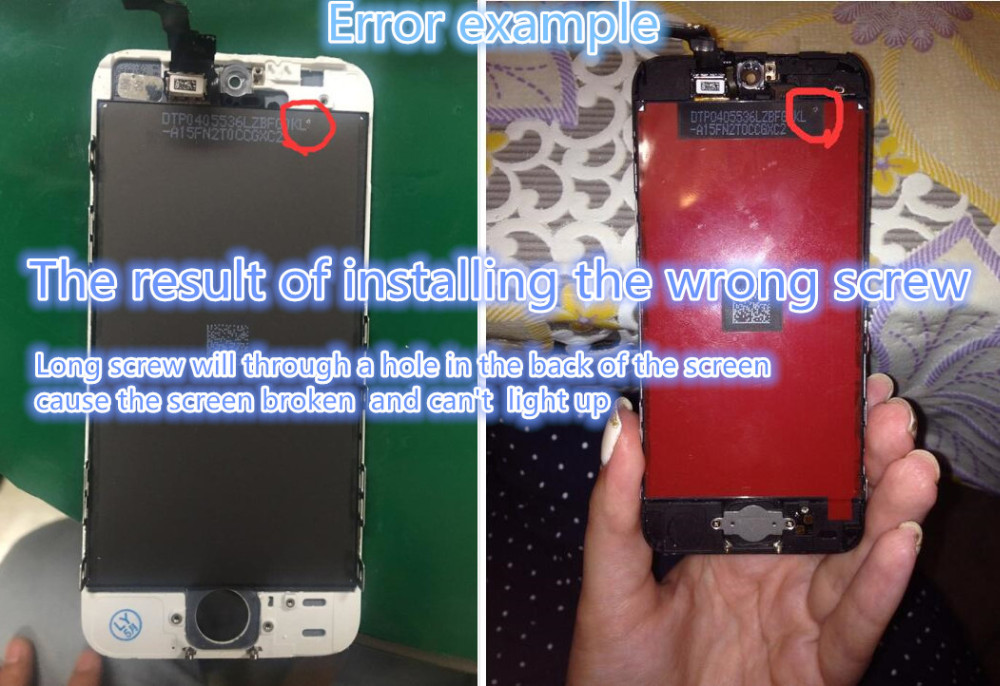 Factory Sale LCD For Iphone 6 lcd Display for iphone 5 5c 5s LCD Screen Display Touch Digitizer Assembly Screen Replacement