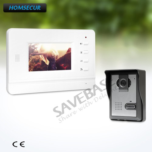 HOMSECUR 4.3inch Video Door Phone Intercom System with One Button Unlock + Russia Local Delivery 1V1 цены