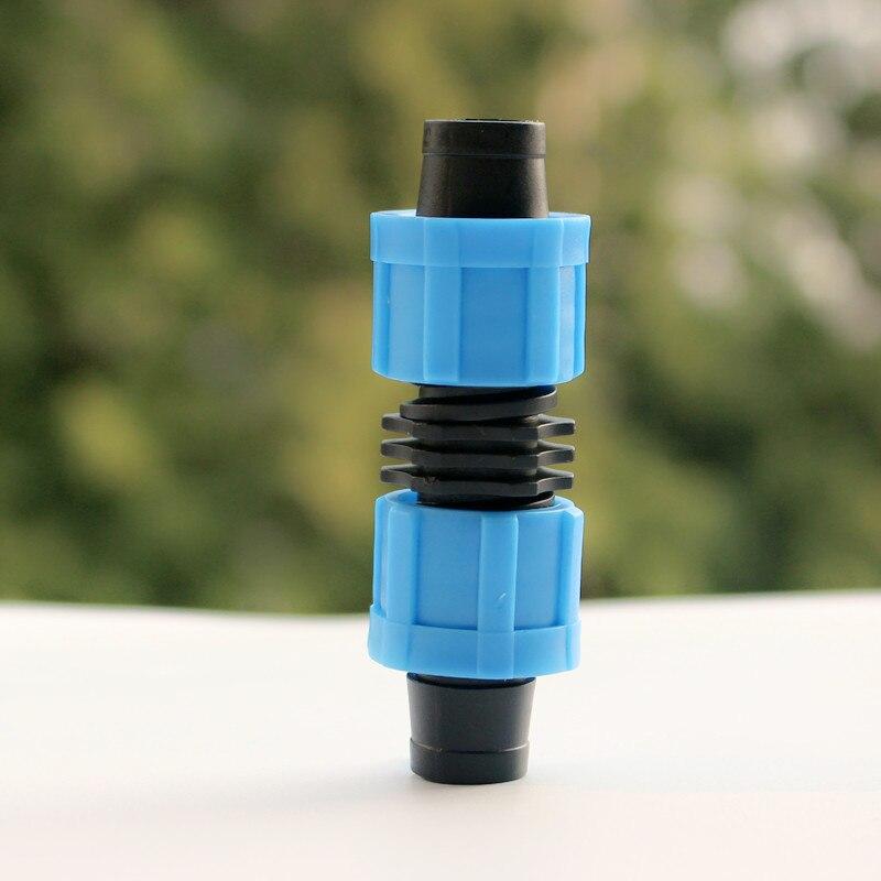 100 шт./упак. капельного ленты 5/8 Лок муфта-подключается длины 5/8 капельная лента (16 мм) лента для капельного фитинги Y101