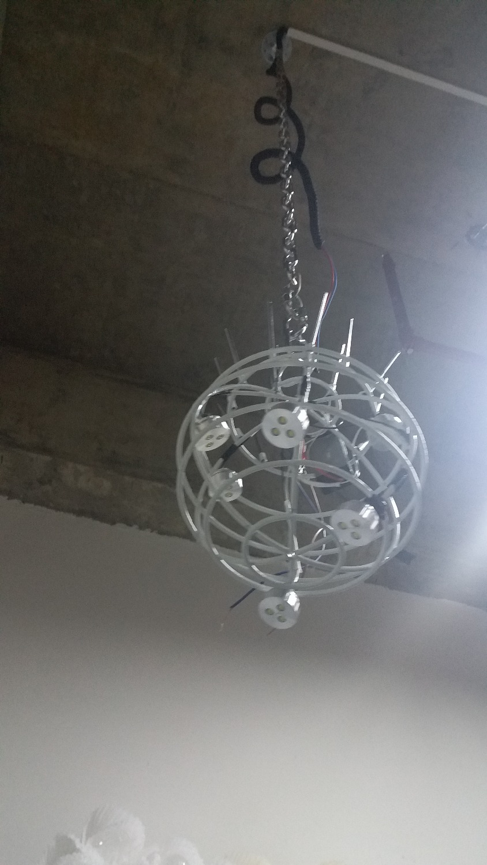 Style LED Lights CE UL Certificate 100 Blown Glass Art Deco Murano Glass Lighting Chandelier in Chandeliers from Lights Lighting