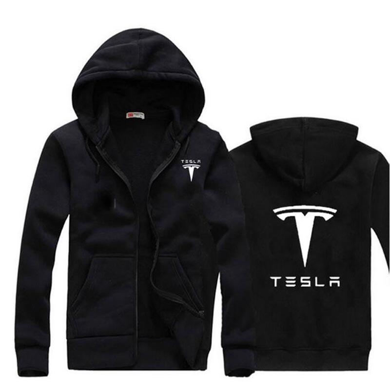 2017 Nuovo Di Zecca Tesla Uomini Con Cappuccio A Maniche Lunghe Ringer Lettera Stampata Felpa Mens Hoodies Casuali Sportswear Con Cappuccio Prezzo Di Strada