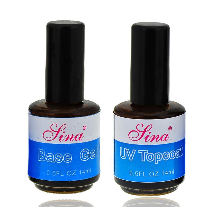 14ml UV Top Coat Primer For Nail Foundation UV Gel Base