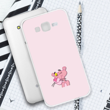 Cartoon Pink Panther Phone Case For Samsung Galaxy J3 J5 J6 J7 J8 2016 2017 Soft Silicone for Prime