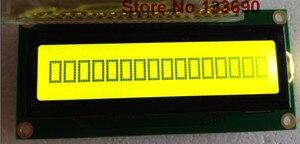 Image 2 - 10PCS/Lot 161 16X1 1601 16*1 Character LCD Module Display LCM with Yellow Green Grey FSTN HD44780/SPLC780D/KS0066 driver IC