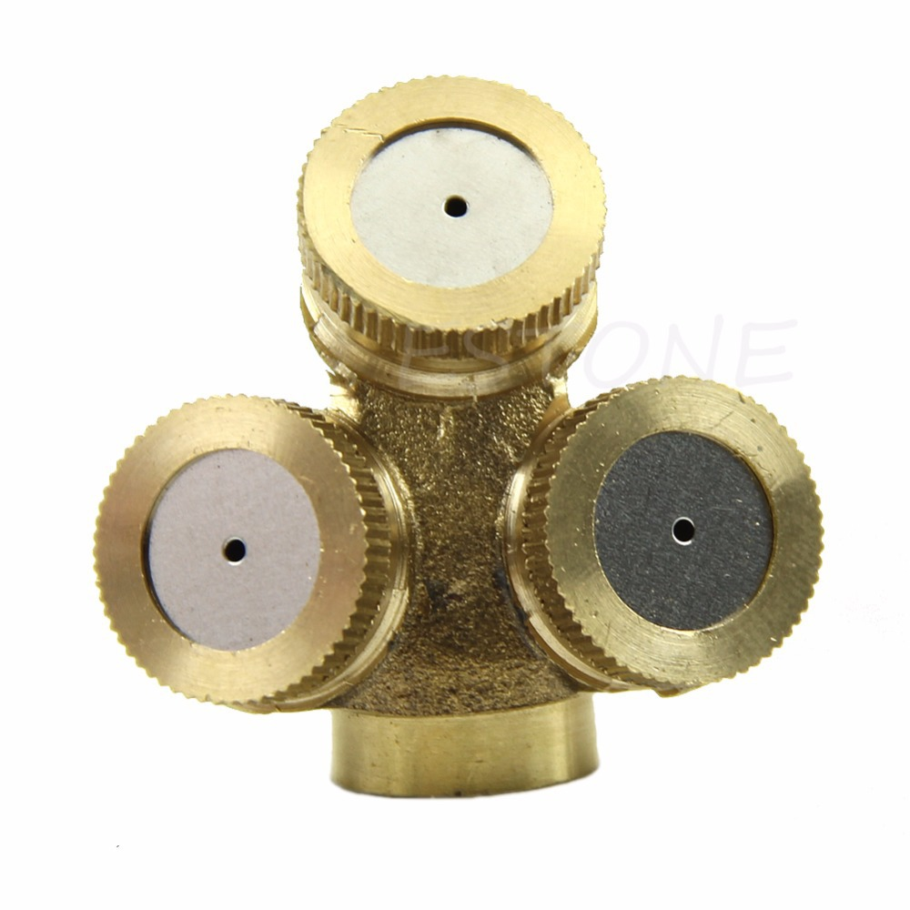 2 PCS 3/4 Solid Brass Threaded Tap Garden Hose Connect Adaptor Tap ...