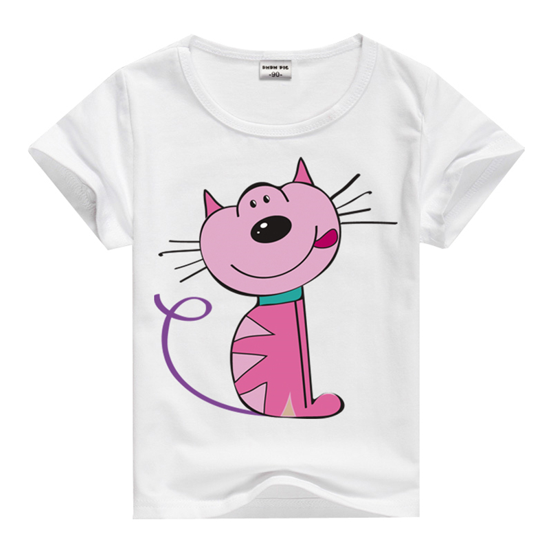 Summer new cartoon children t shirts boys kids t shirt Girl t shirts design