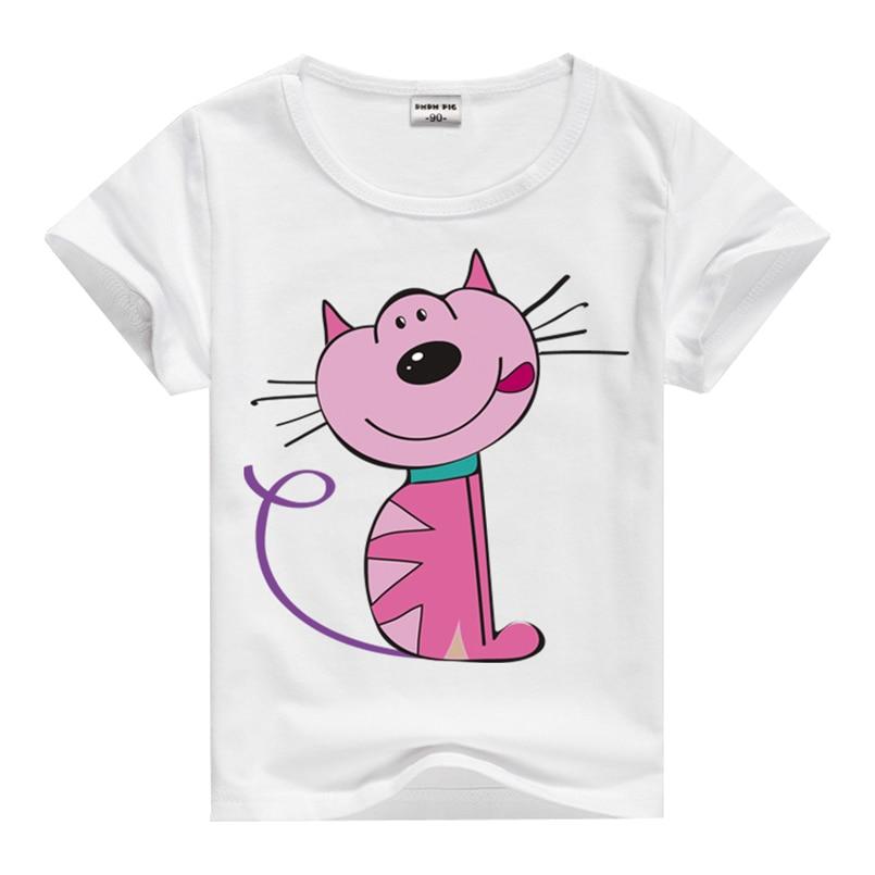 Summer New Cartoon Children T Shirts Boys Kids T Shirt