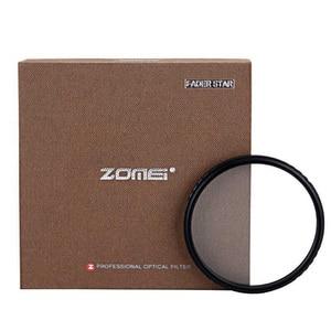 "Image 2 - Zomei ABS אופטי זכוכית מדעך כוכב קו כוכב מסנן 4/6/8 נקודת מצלמה Filtro Slim 49/ 52/58/67/72/77/82 מ""מ עבור Canon Nikon Sony"
