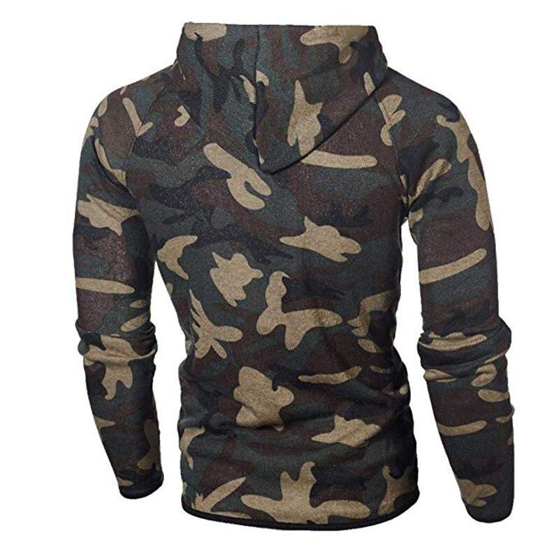 Men\`s Autumn Winter Snowboarding Camouflage Top Pants Slim Sports Suit Tracksuit Hoodies Camo Suit Long Sleeves Sweatshirt (15)