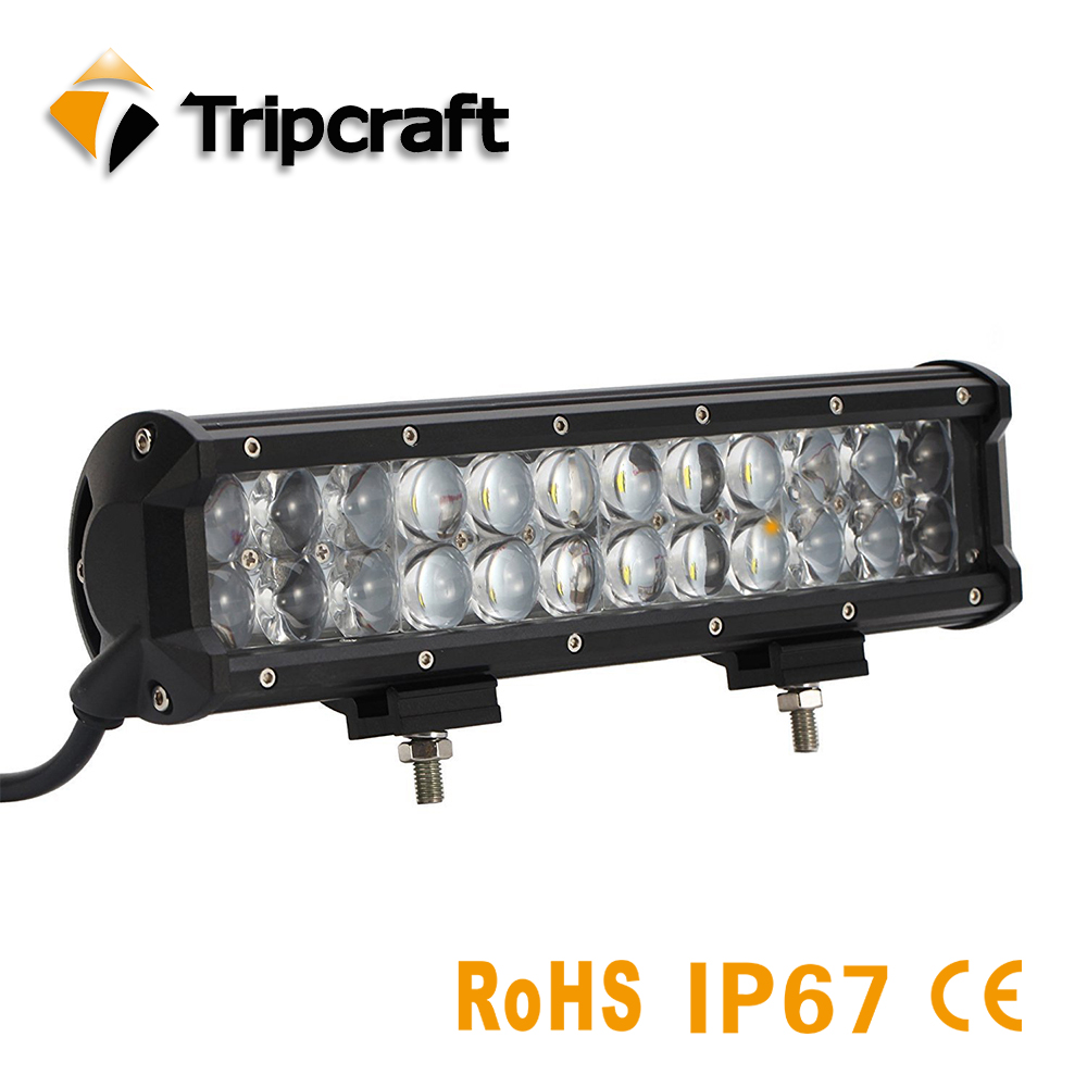 TRIPCRAFT waterproof 120W 4D LED Light Bar for Work Indicators Driving Offroad Boat Car Tractor Truck 4x4 SUV ATV Combo fog lamp tripcraft 4 6inch 40w led work light bar spot flood combo beam for offroad boat truck 4x4 atv uaz 4wd car fog lamp 12v 24v ramp
