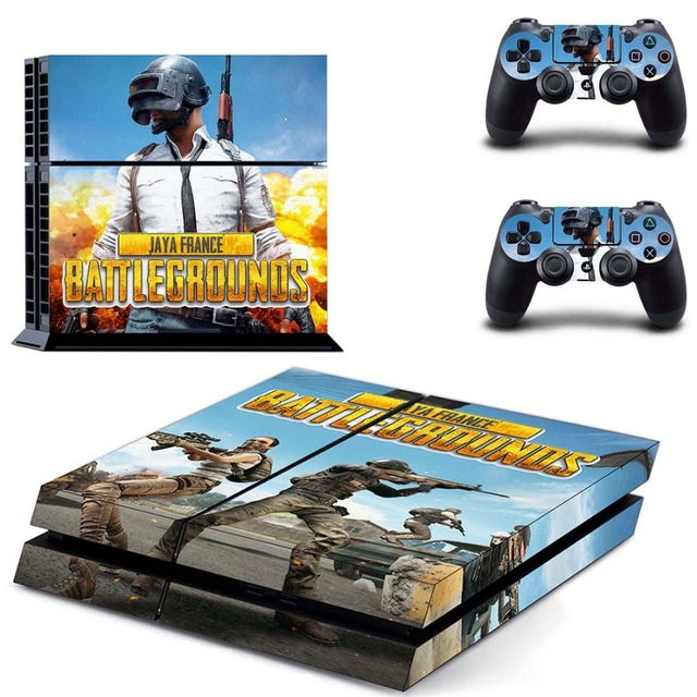 Pubg Battlegrounds Ps4 Skin Console Controller Decal Stickers For Sony Playstation 4 Console And Two Controller