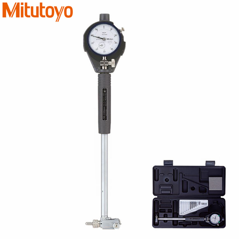 Original Mitutoyo 511 713 Dial Bore Gauge 50 150mm 0 01 With 2046S Dial Indicator Test