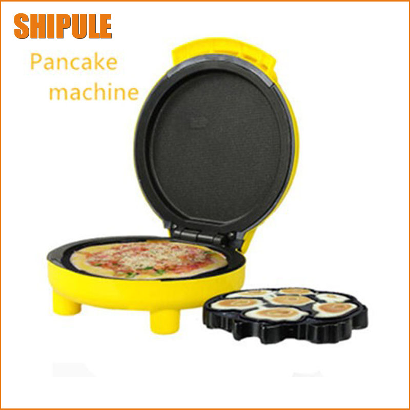 Mini cake sided baking pan heating electric grill machine home small pancake pan omelette pan pancake machine control dekok square cake pan