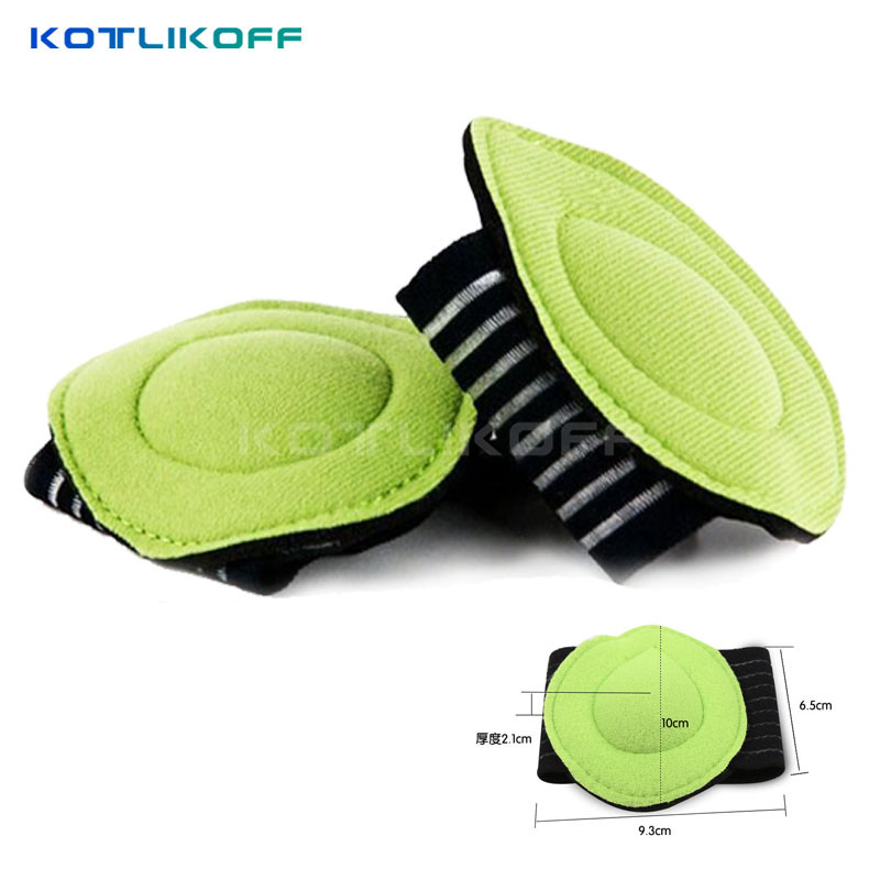 KOTLIKOFF Correct Flat Foot Arch Support Orthopedic Insoles Women Men Half Shoe Insoles Feet  Mat Breathable Shoes Pad