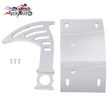 Motorcyle Parts Frame Holder Chrome Swingarm Side Mount Curve License Plate Bracket for Honda VTC1000 RC51