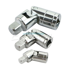 Ratchet Angle Extension Bar Socket Adapter Universal Joint Set 1/4″ 3/8″ 1/2″ #H028#