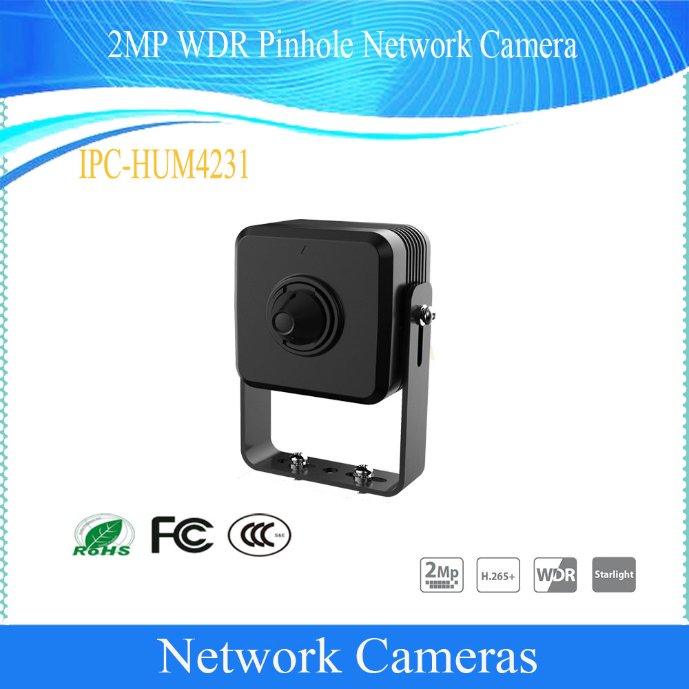Original Dahua Free Shipping English Security CCTV Pin hole 2MP WDR Network Surveillance Camera DH-IPC-HUM4231Original Dahua Free Shipping English Security CCTV Pin hole 2MP WDR Network Surveillance Camera DH-IPC-HUM4231