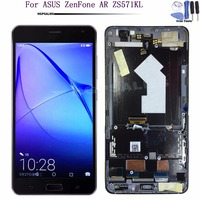 For ASUS ZenFone AR ZS571KL LCD Display Touch Screen Digitizer Assembly With Frame For ASUS ZS571KL LCD