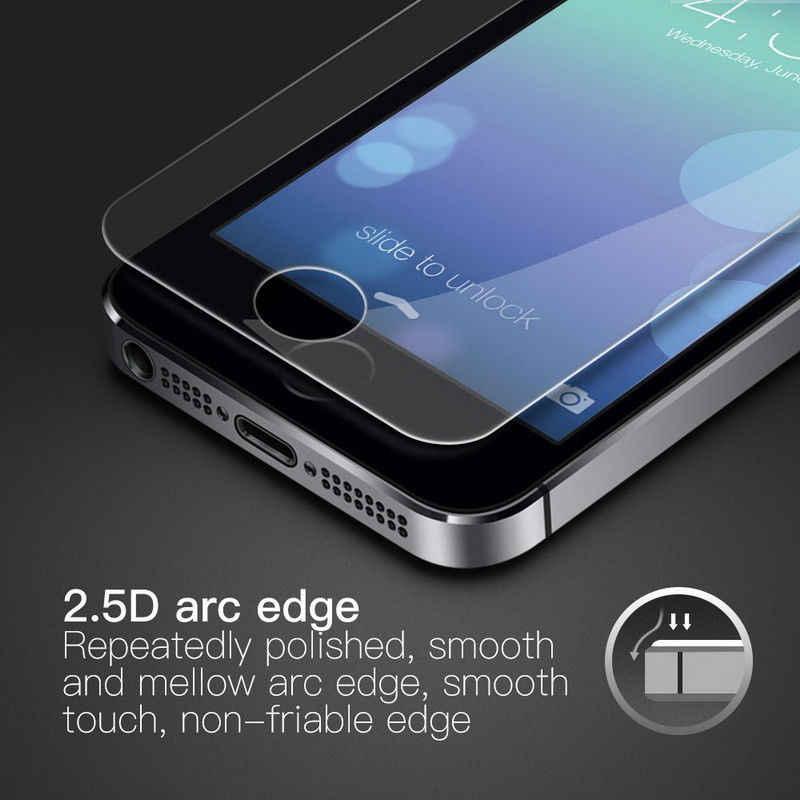 Закаленное стекло 9 H для iPhone 7 6 6 S 8 Plus, Защитное стекло для экрана iPhone 6 5s SE 4S, Защитное стекло для iPhone X XR XS Max