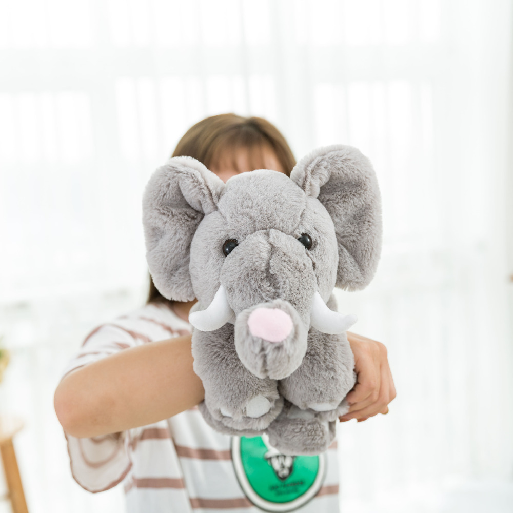 New Product Magic Animal Plush Toy Stuffed Animals Teddy Bear Panda Elephant With Magic On Arm Best Gift For Kids in Stuffed Plush Animals from Toys Hobbies
