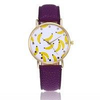 Новинка PU Watch кожа женские часы с ремешком Повседневное Красивые Простые круглые аналоговый Бизнес кварцевые наручные часы для дам