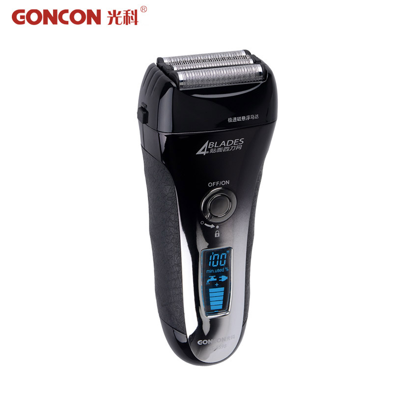 Electric Shavers for Men 4D Blade Cutting Shaving Machines Washable Mustache Trimmer Men s Electronic Razor
