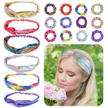 New 18pcs Women Hairband with 6 Headbands 12 Soft Hair Ponytail Donut Grip Loop Holder Stretchy bands for Girls Wholesale