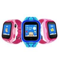 GPS LBS A32 Smart Children Watch Baby SIM Card Touch Screen SOS Call Camera Tracker Kids Alarm Clock Anti Lost Smartband pk Q90