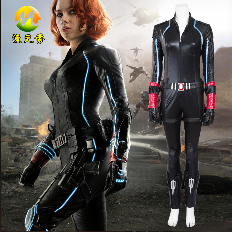 Best Seller Movie Roleplay Black Widow Costume Age Of Ultron