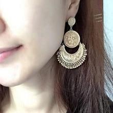 Boho Beaded Tassel Earrings