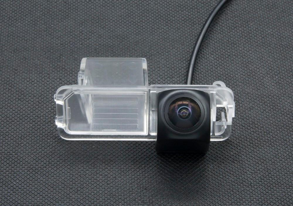 Starlight HD 1080 P Fisheye MCCD PARA Polo V (6R) golf 6 VI/Passat CC CCD Câmera de visão Traseira Do Carro Câmera Reversa Estacionamento de BackUp