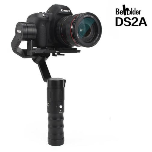 Newest Beholder DS2A 32bit 3axis Handheld Stabilizer 360 Endless Oblique Arm version Camera Gimbal for DSLR Cameras VS DS1 [hk stock][official international version] xiaoyi yi 3 axis handheld gimbal stabilizer yi 4k action camera kit ambarella a9se75 sony imx377 12mp 155‎ degree 1400mah eis ldc sport camera black