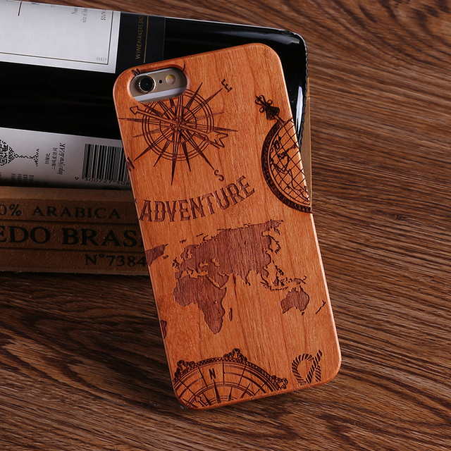 Natural Wood Adventure Case for iPhone 2