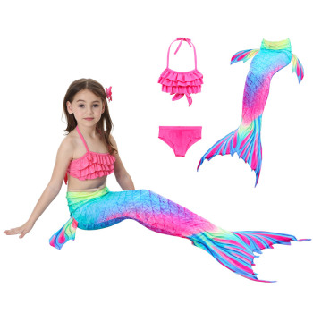 2019 Fashion Mermaid Little Girl
