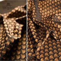 Three Dimensional Composite Fabric Heavy Texture Air Layer Oversize Windbreaker Jacket Fabric Ginkgo Biloba Fabric